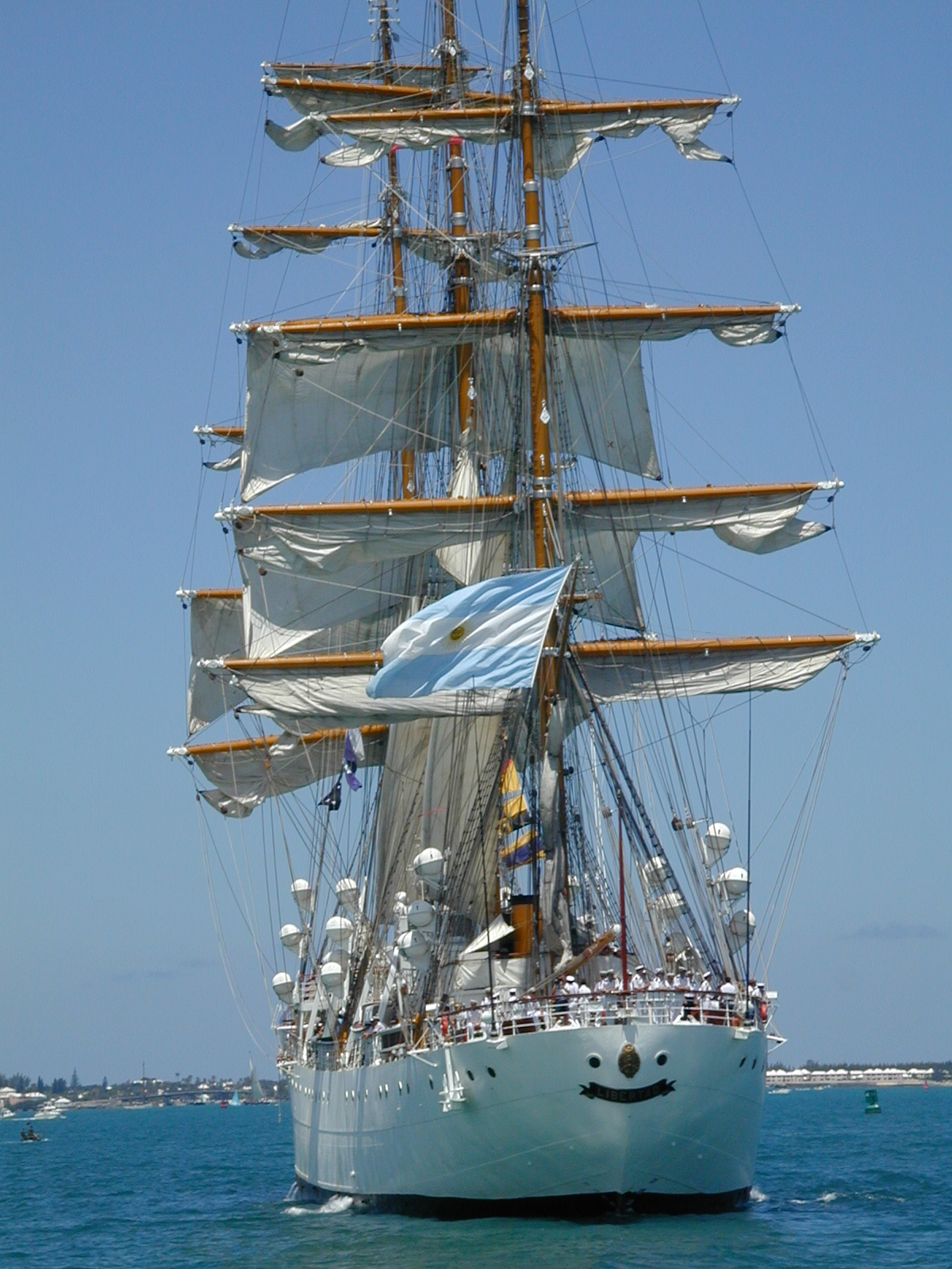 Tall Ships in the Great Sound, Bermuda