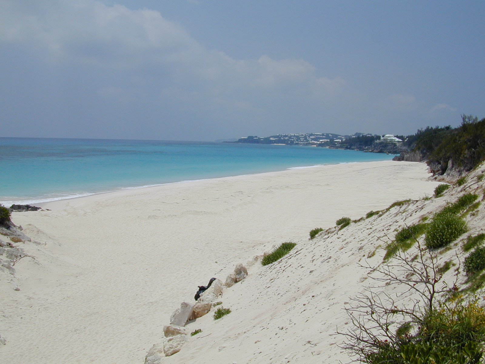 Windsor Beach located on the Southeastern Shore of Bermuda